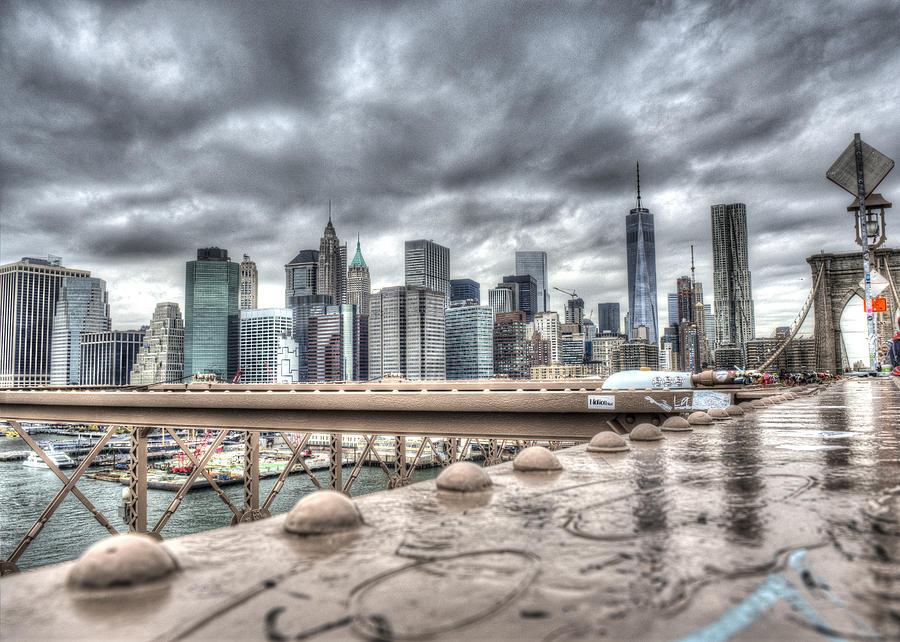 Brooklyn Photograph - Storm by Michael Santos