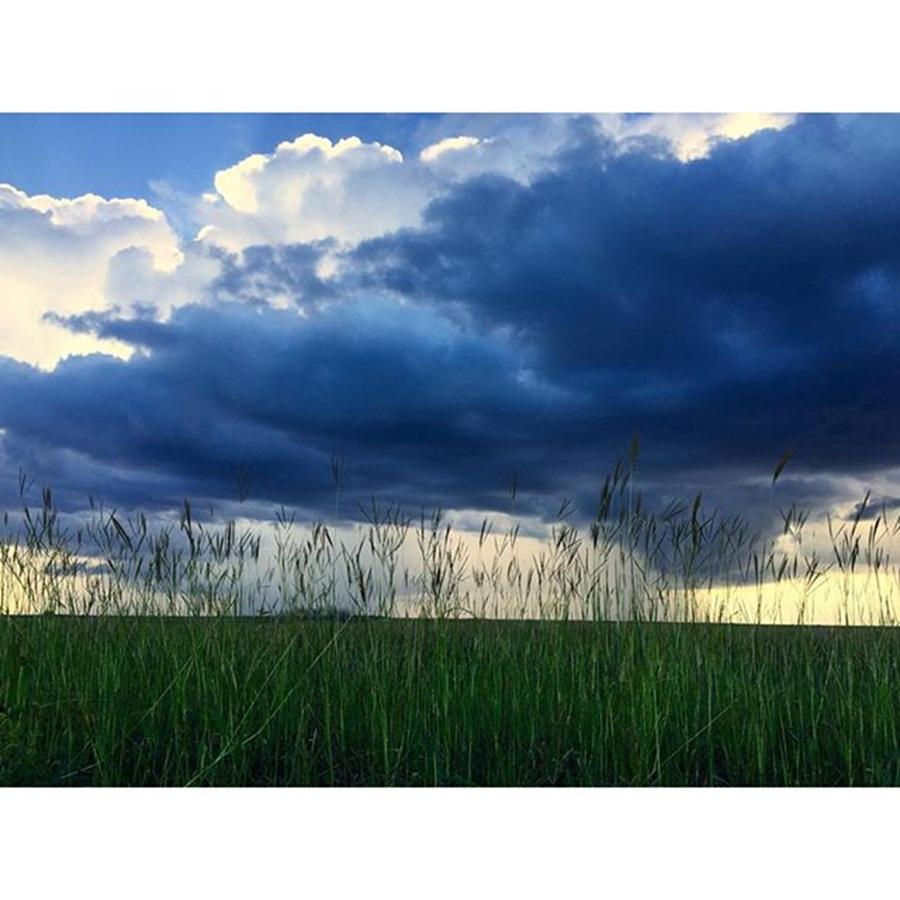 Clouds Photograph - Storm On The Everglades At Sunset by Juan Silva