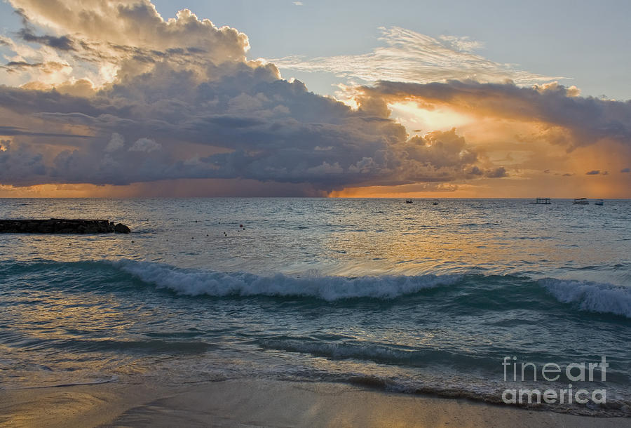 Storms Photograph - Storm on the Horizon by Diana Nault