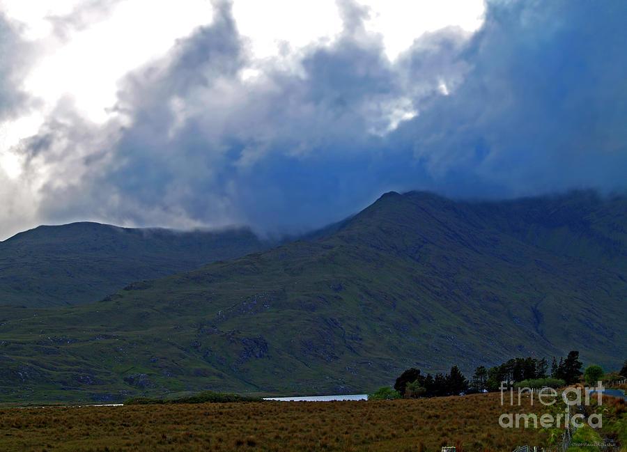 Connemara Photograph - Storm On The Horizon In Connemara by Patricia Griffin Brett