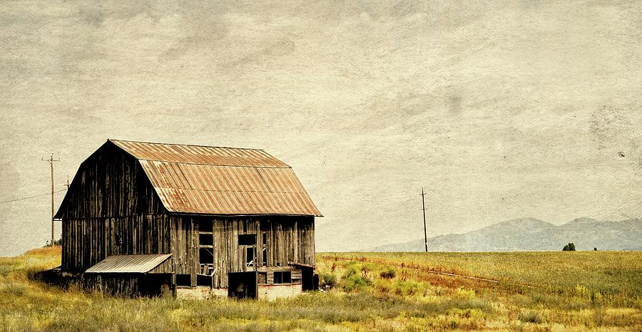 Storm On The Prairie Photograph