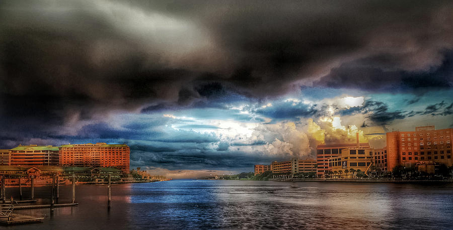 Tampa Photograph - Storm On The Way by Mike Dunn
