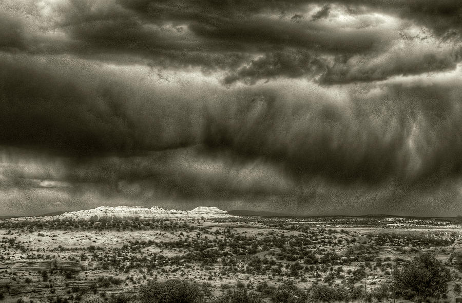 Storm Over Canyonlands NP by Michael Kirk