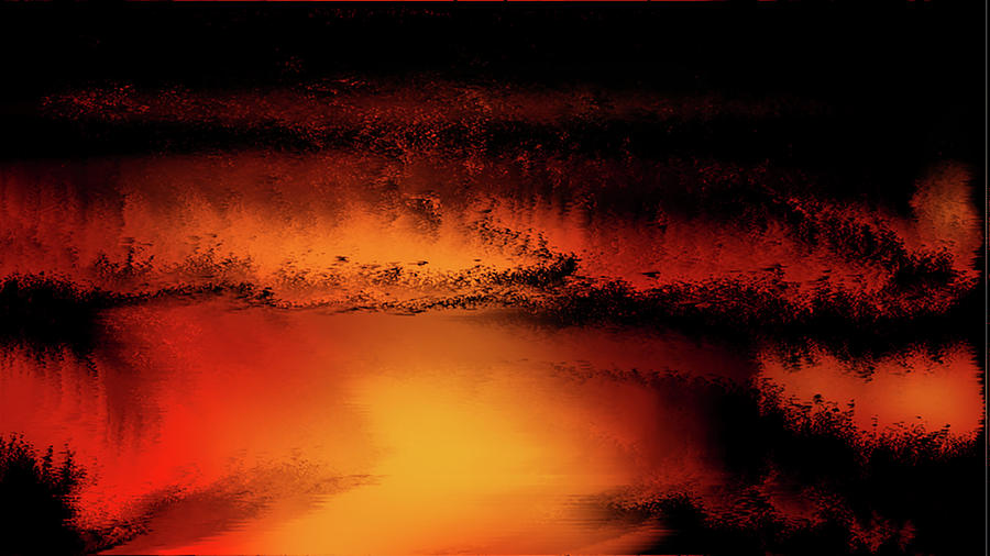 Clouds Digital Art - Storm by Sibeal Colley