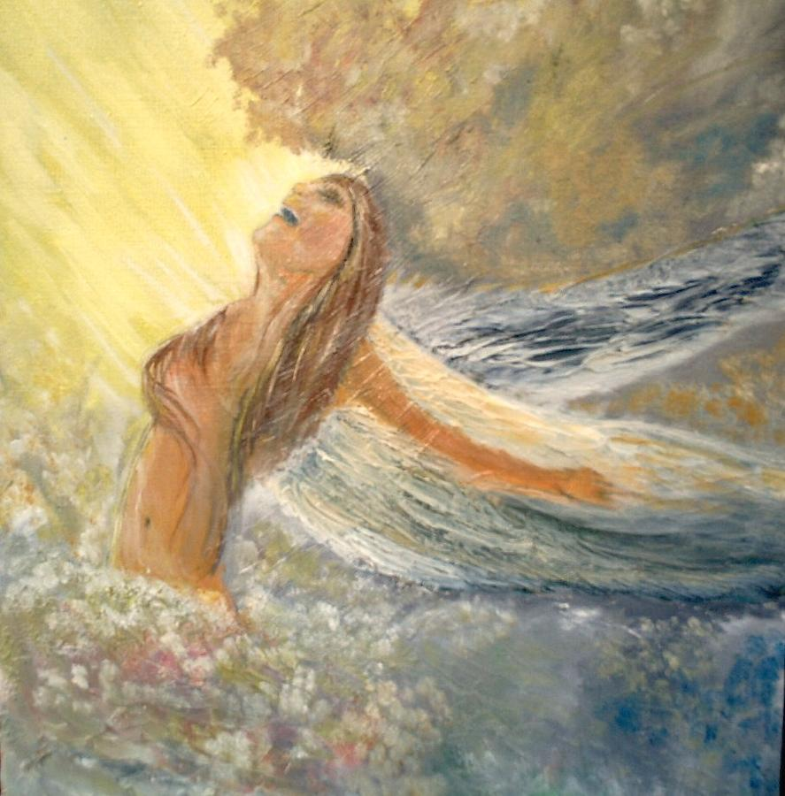 Storm Song Painting by J Bauer