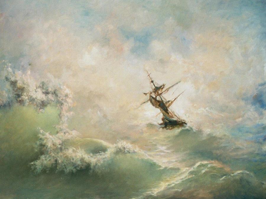 Storm Painting - Storm by Tigran Ghulyan