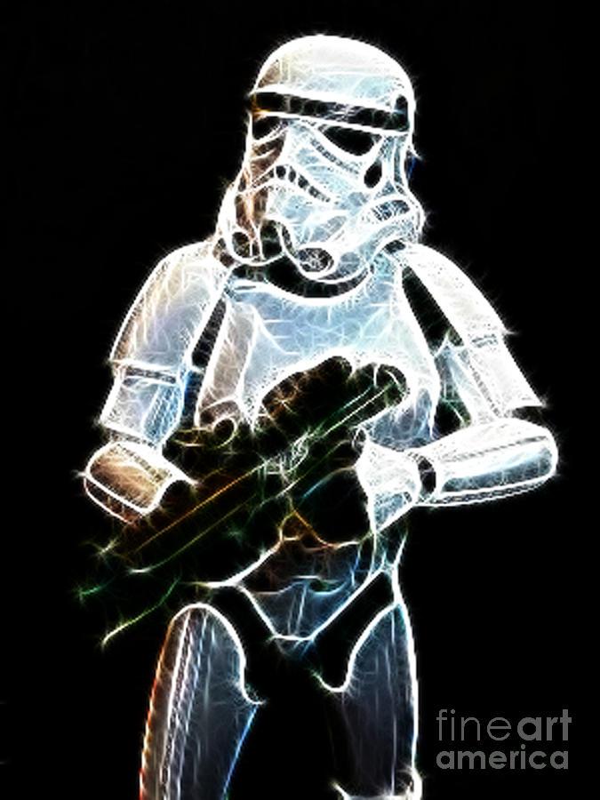 Storm Trooper Photograph - Storm Trooper by Paul Ward