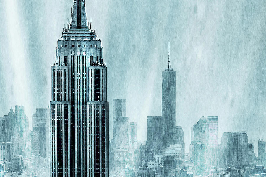Empire State Building Digital Art - Storm Troopers by Az Jackson
