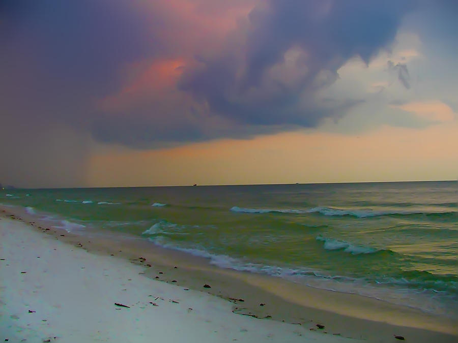 Storm Photograph - Storm Warning by Bill Cannon