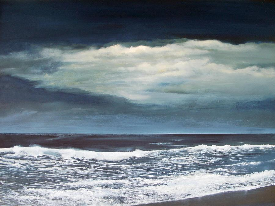 Surf Painting - Storms Never Last by Ken Ahlering