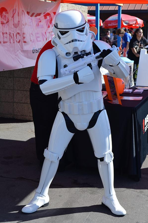 Star Wars Photograph - Stormtrooper by Scott Ivens