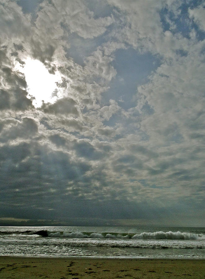 Ocean Photograph - Stormy Afternoon by Liz Vernand