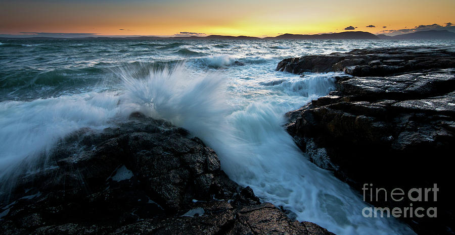 Stormy Coast Photograph By Mike Reid