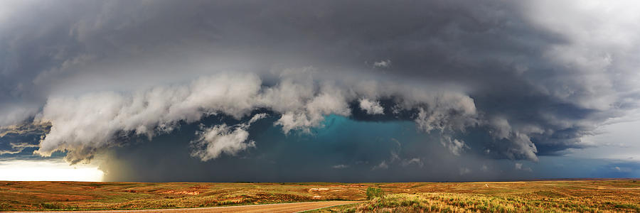 Stormy Horizon by James Menzies