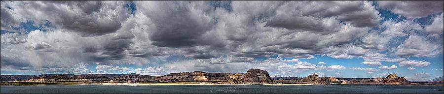 Stormy Lake Powell by Erika Fawcett