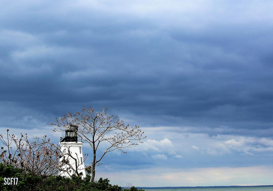 Stormy Lighthouse Photograph by Stacie Fernandes