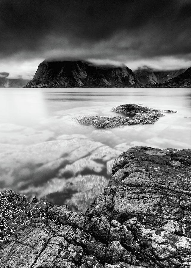 Landscape Photograph - Stormy Lofoten by Alex Conu
