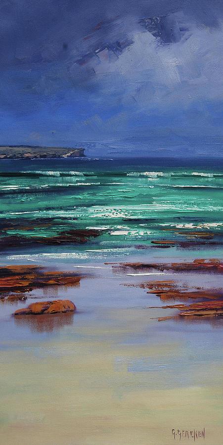 Stormy Ocean Painting
