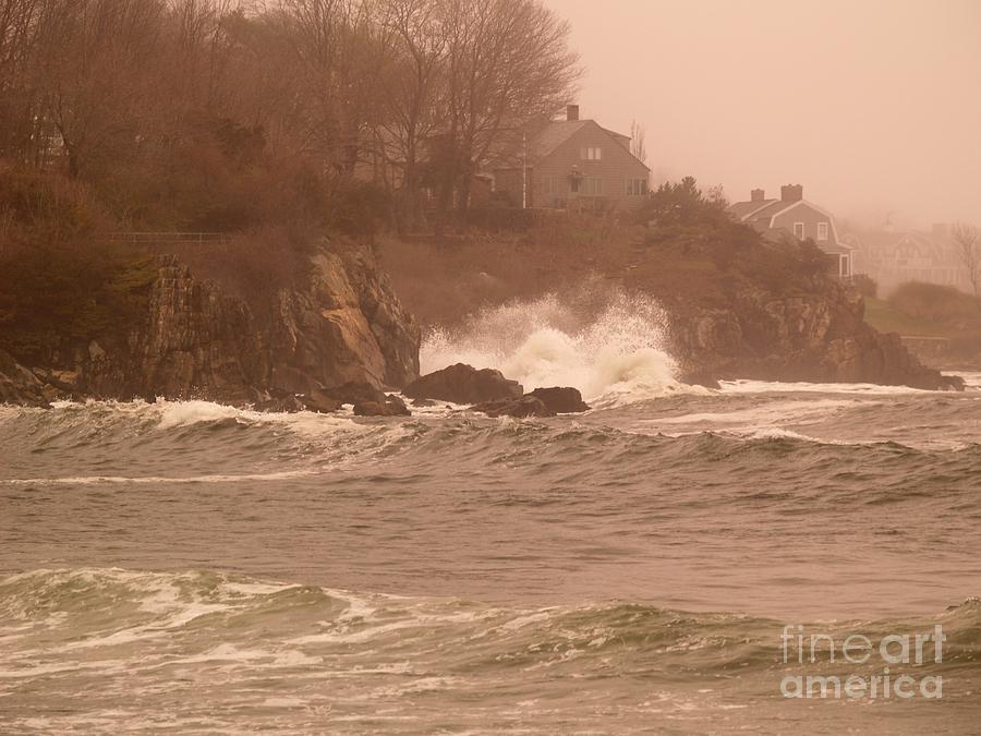 Stormy seas by Paul Galante