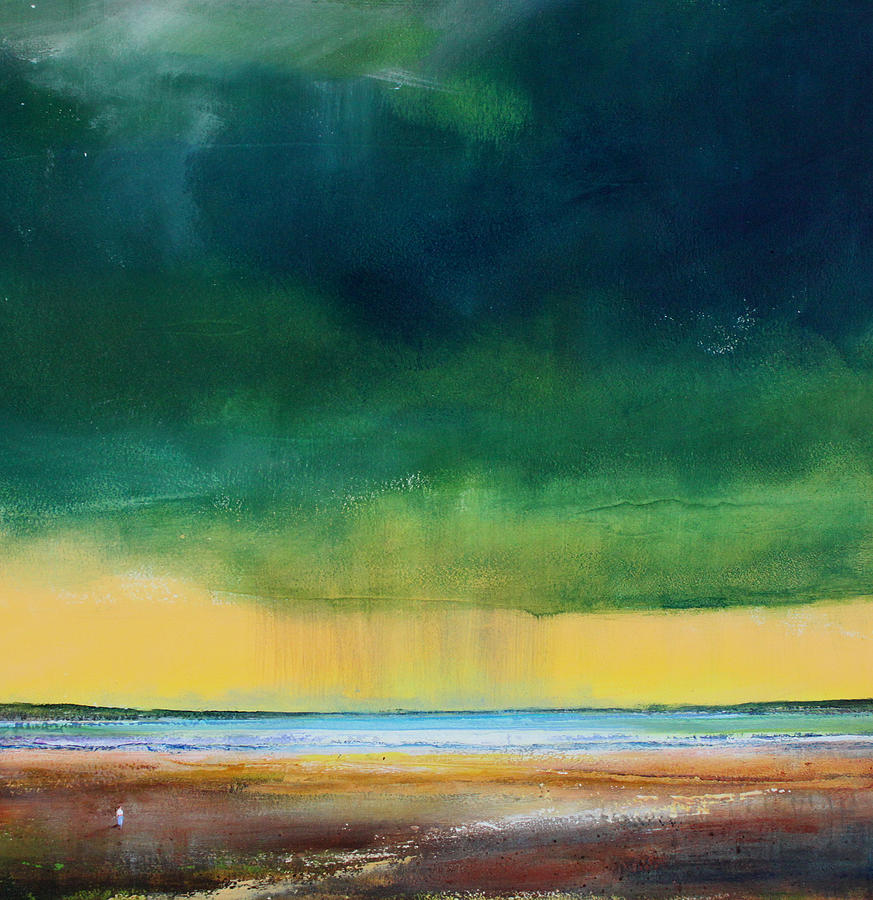 Storm Painting - Stormy Seas by Toni Grote