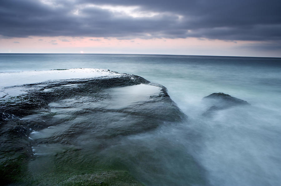 California Photograph - Stormy Shore by Eric Foltz