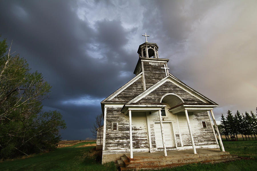 Stormy SK Church by Ryan Crouse