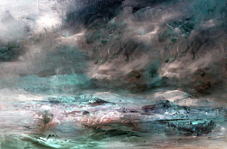 Storm Mixed Media - Stormy Sky by Davina Nicholas