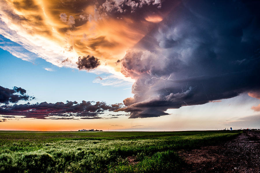 Stormy Sunset by Marcus Hustedde