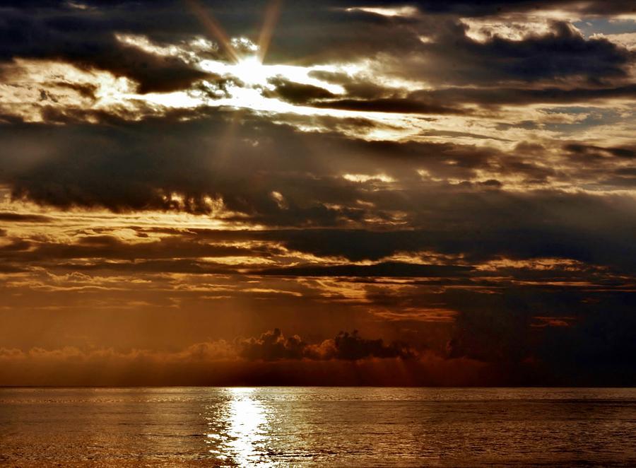 Stormy Sunset Photograph