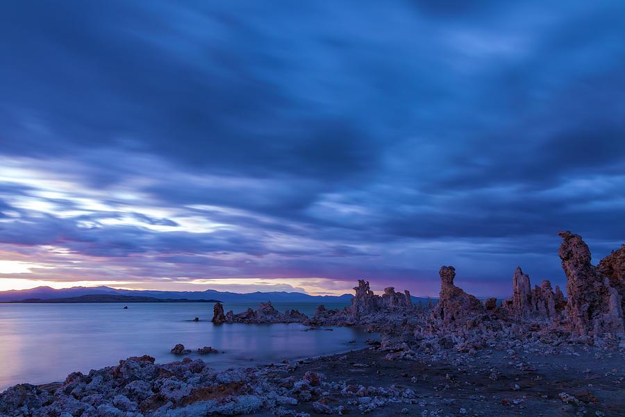 Landscape Photograph - Stormy Twilight by Jonathan Nguyen