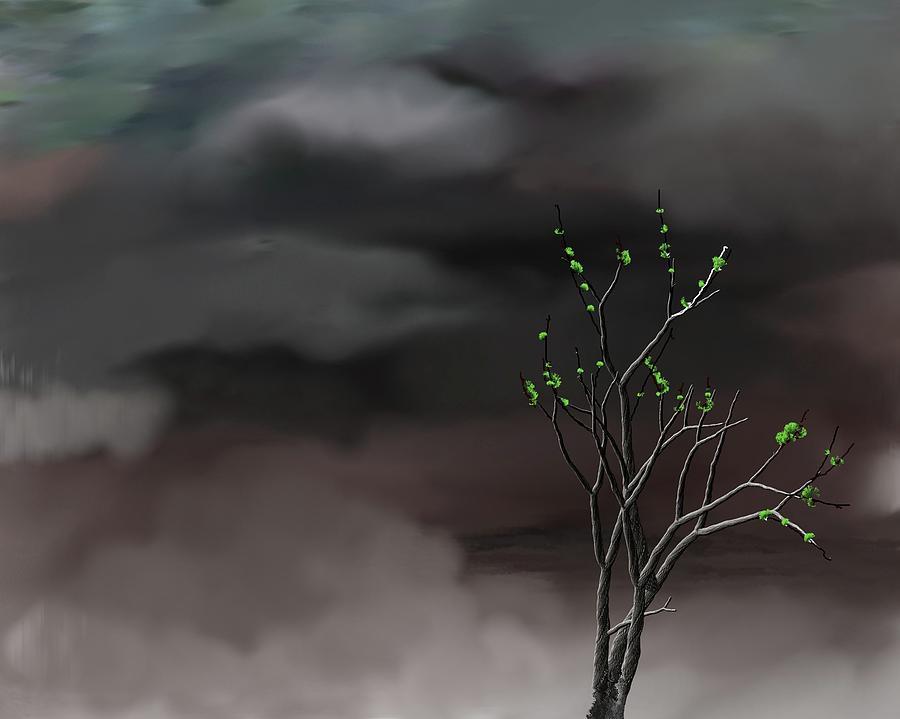 Storm Weather Digital Art - Stormy Weather by David Lane