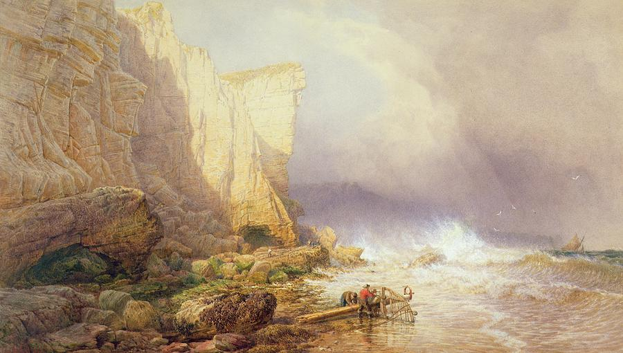 Stormy Painting - Stormy Weather by John Mogford
