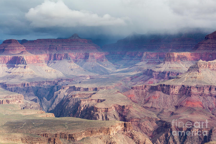 Stormy Weather Over The Grand Canyon