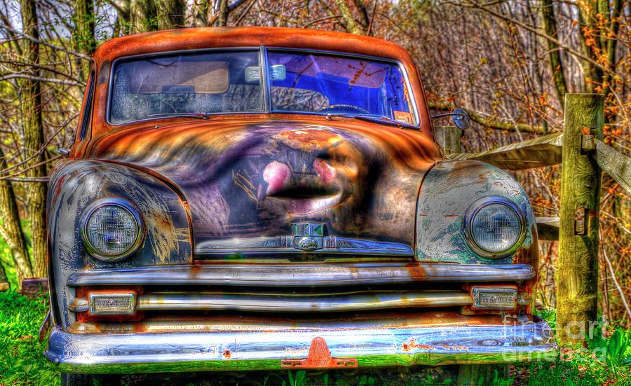 Cars Photograph - Storyteller by David Simons