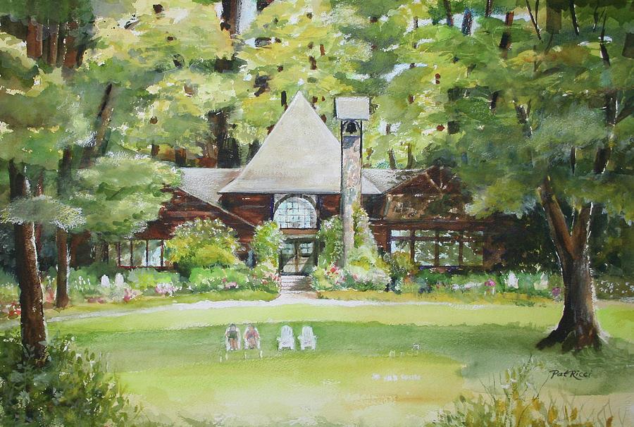 Stout's Island Lodge by Patricia Ricci