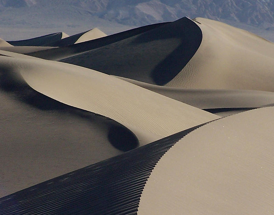 Sand Photograph - Stovepipe Morning by David Woodruff