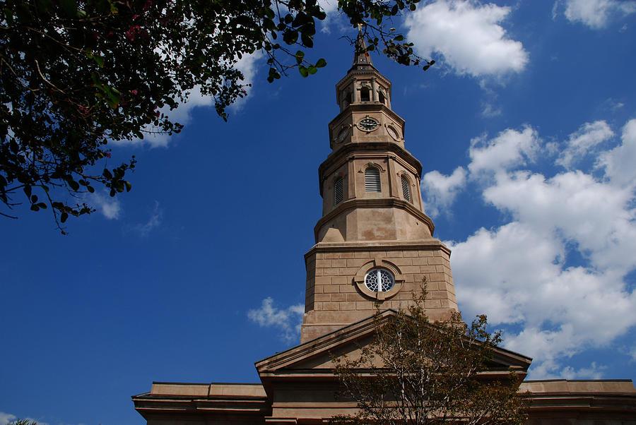 Sc Photograph - St.philips Church Charleston Sc by Susanne Van Hulst