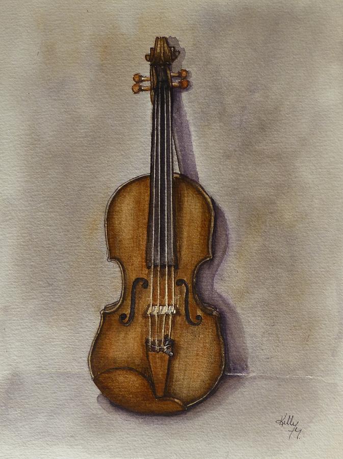 Stradivarius Violin by Kelly Mills
