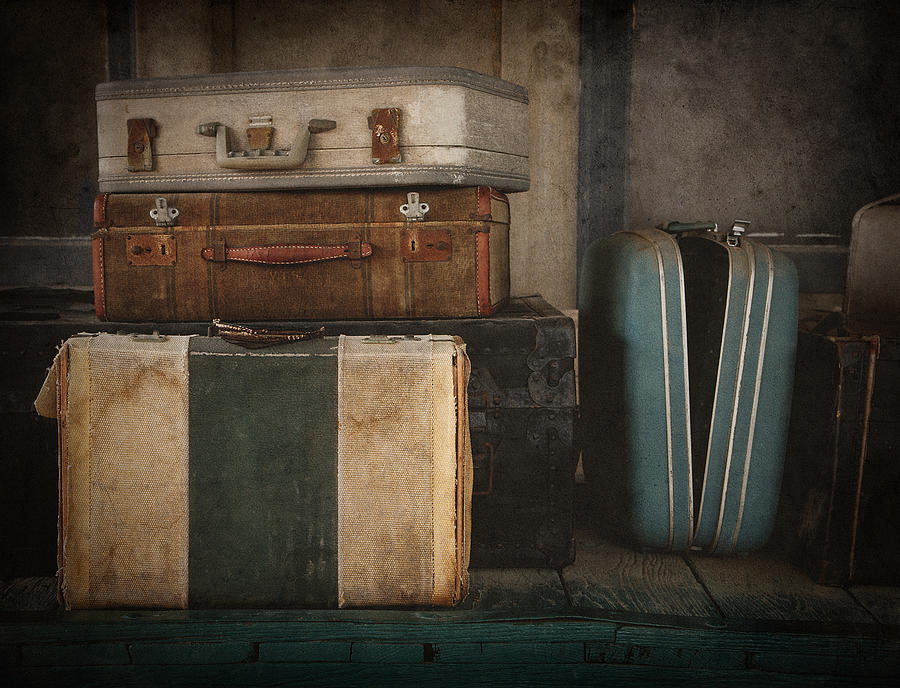 Luggage Photograph - Stranded by Amy Weiss