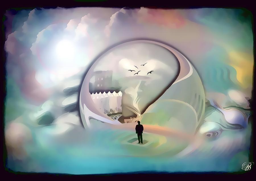 Strange Digital Art Strange World By Pop Nicolae