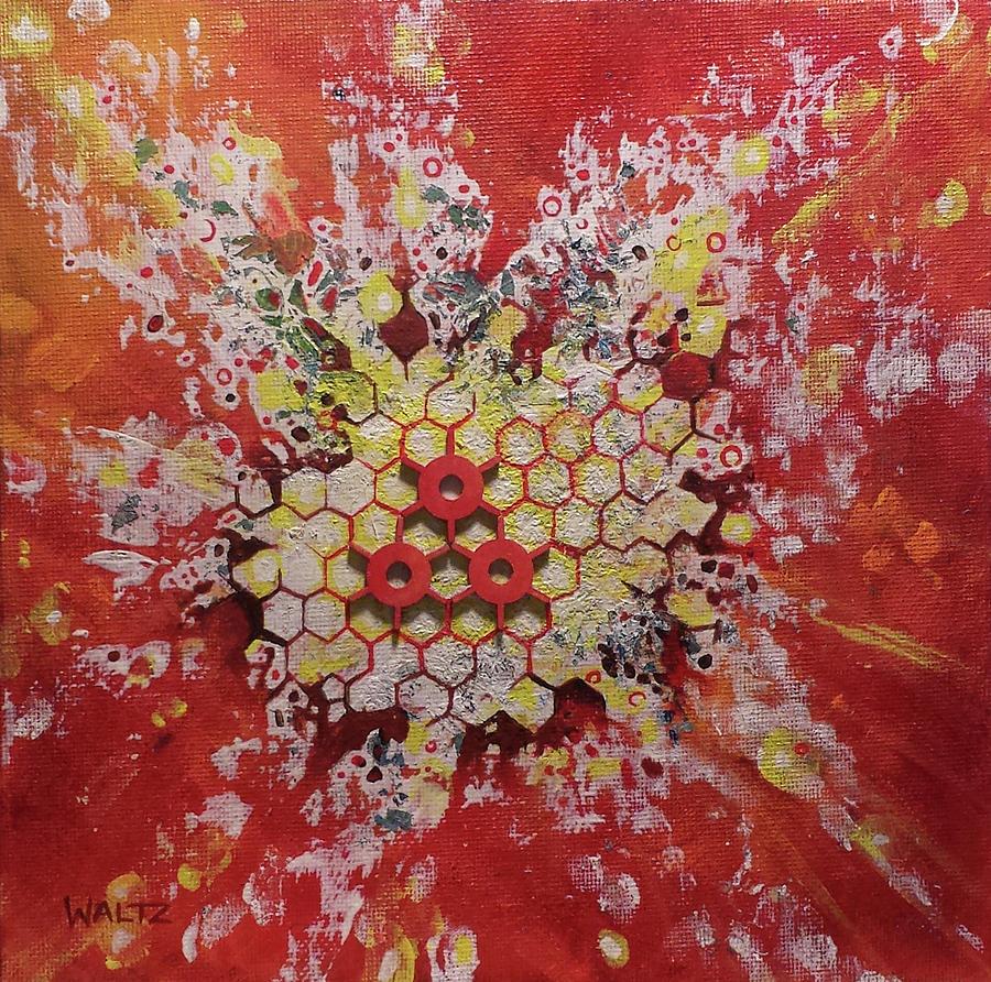 Strangelet Painting by Beth Waltz