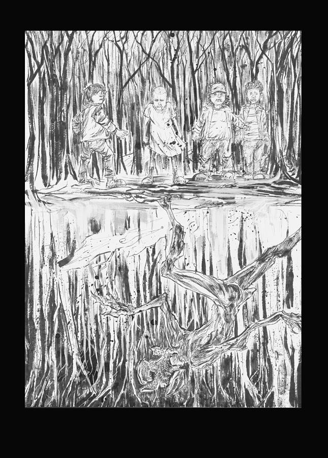 Stranger Things Are Better Things Drawing By Patrick Buermeyer