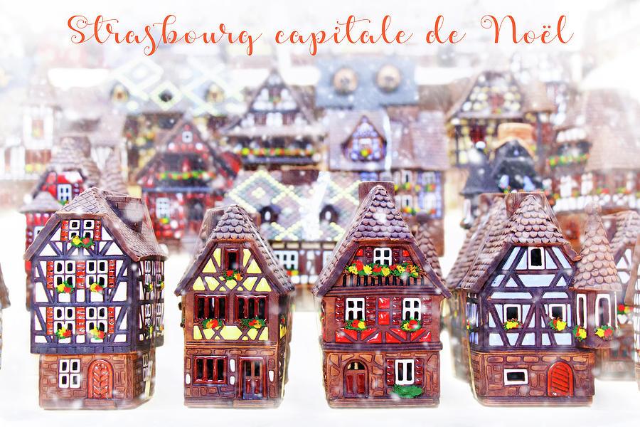 Decoration De Noel Sia.Strasbourg Capital De Noel