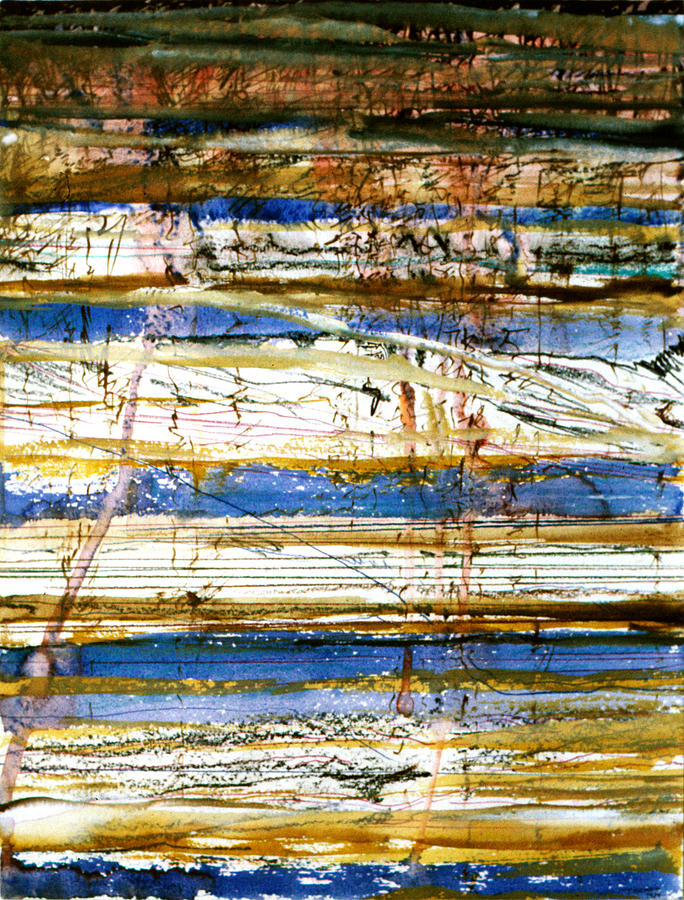 Earth Painting - Strata by Tom Hefko