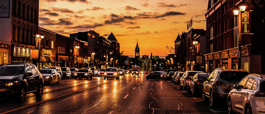 Stratford Main Drag at Dusk by Will Bailey