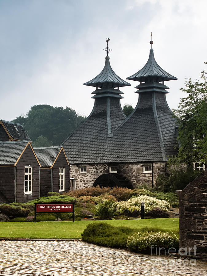 Scotland Photograph - Strathisla Whisky Distillery Scotland by Jan Bickerton