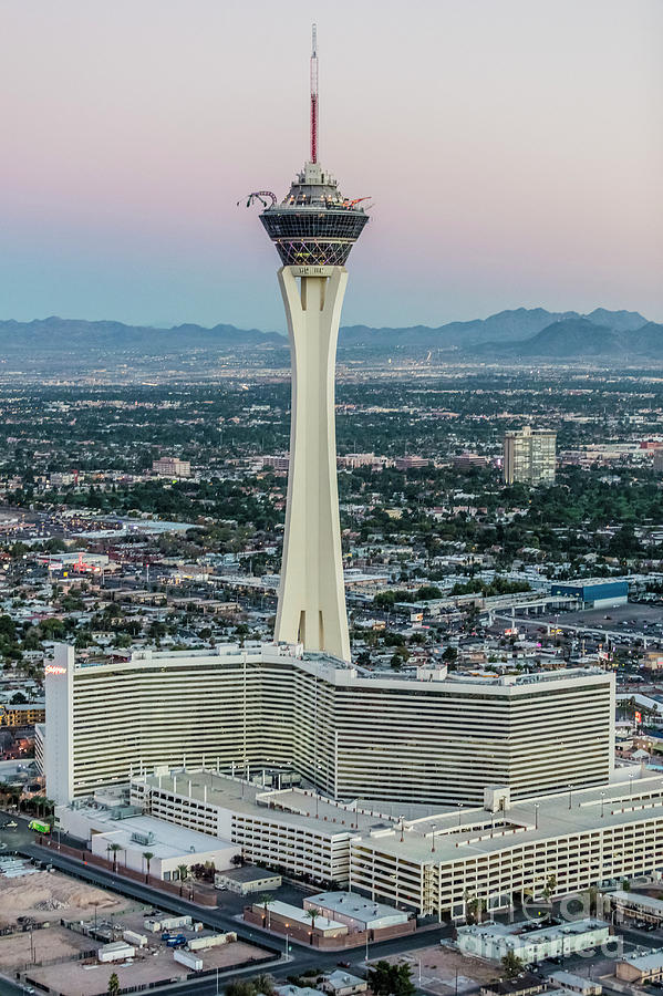 Las Vegas Photograph - Stratosphere Casino Hotel And Tower by Sv