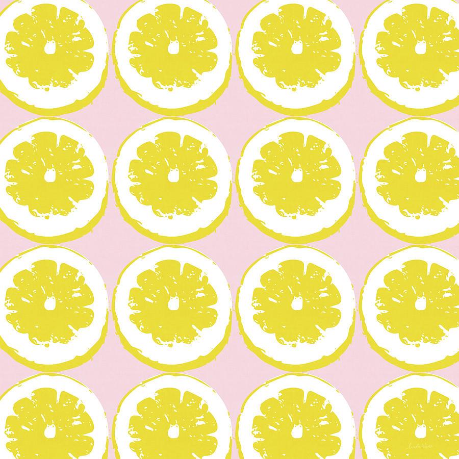Strawberry Lemonade- Art By Linda Woods Mixed Media by Linda Woods