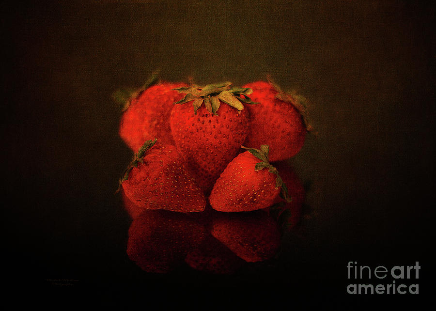 Strawberry Reflections by Mechala Matthews