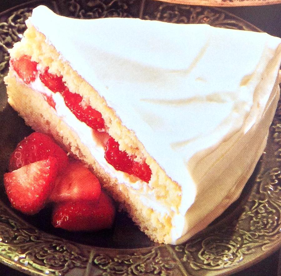 Strawberry Short Cake  Photograph by Jacqueline Manos